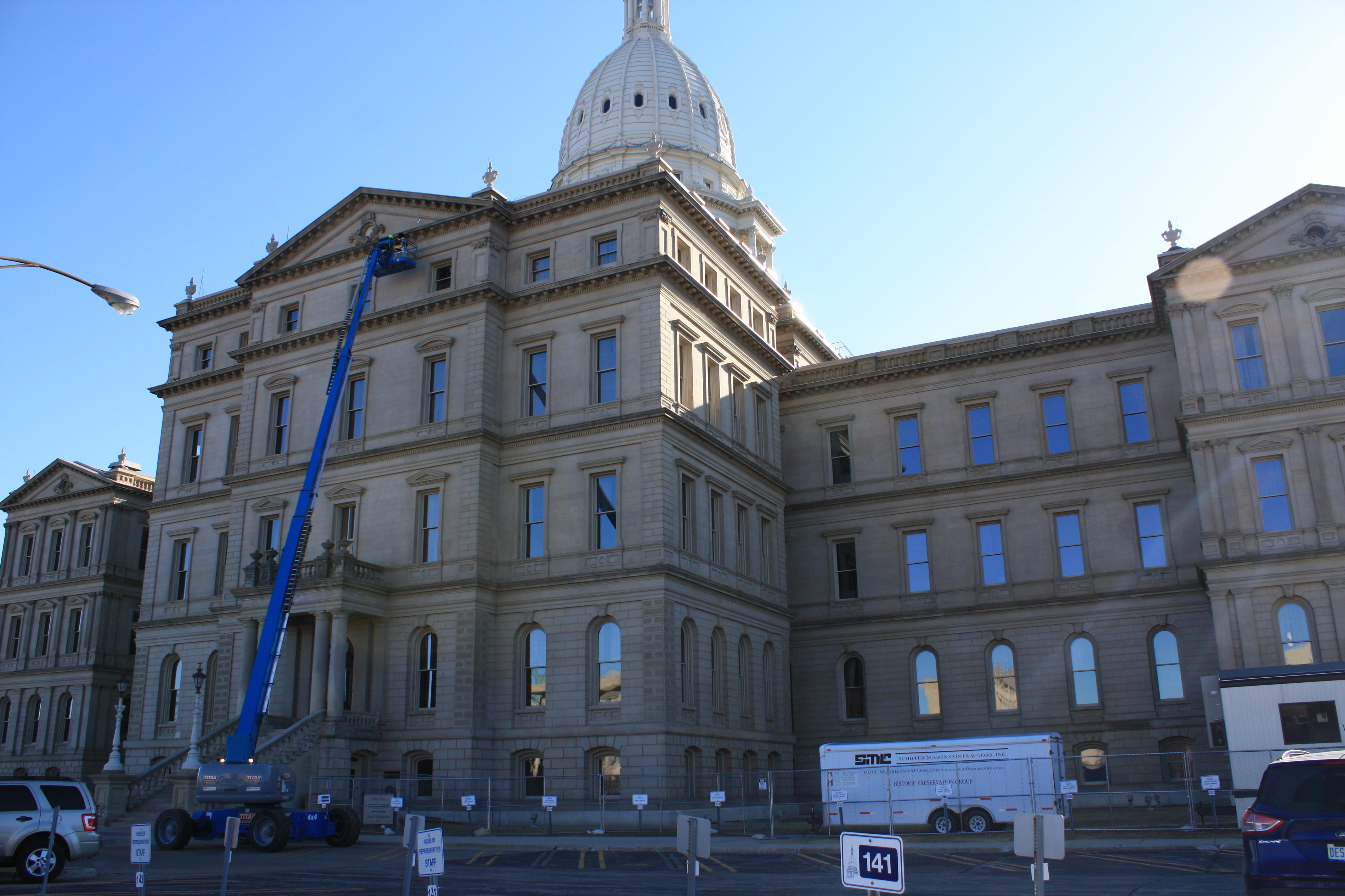 Michigan State Capitol - Lansing, MI